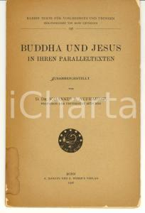 1926 BONN Johannes AUFHAUSER Buddha und Jesus