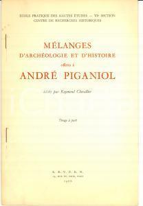 1966 Pedro BOSCH-GIMPERA Sur le problème des Etrusques