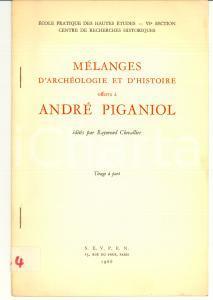 1966 Andreas ALFOLDI Les Cognomina des magistrats