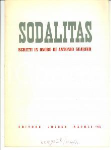 1984 Jean TRIANTAPHYLLOPOULOS Contra naturam AUTOGRAPH
