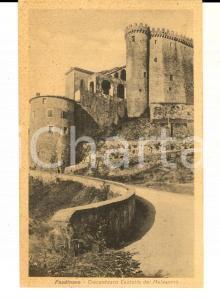 1930 ca FOSDINOVO (MS) Trecentesco castello dei MALASPINA *Cartolina FP NV