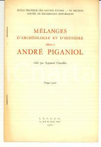 1966 Jean LOICQ Rituel ombrien d'IGUVIUM Autographe