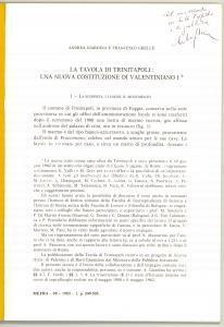 1977 Andrea GIARDINA Francesco GRELLE Trinitapoli