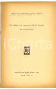 1939 Antonio GUARINO Beneficium competentiae milites