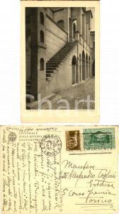 1930 VITTORIALE Scala dello SCHIFAMONDO Cartolina ad Alessandro TASSONI ESTENSE