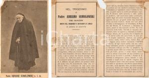 1924 LONIGO (VI) In memoria di P. Adriano OSMOLOWSKI