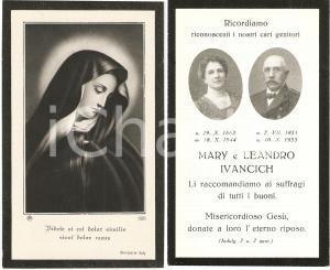 1944 ca TRIESTE In memoria di Mary e Leandro IVANCICH
