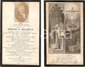 1899 In memoria di P. SERAFINO DA BOLLENTINA Santino