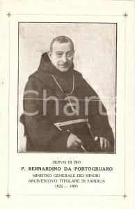 1925 circa In memoria di P. BERNARDINO DA PORTOGRUARO
