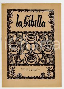 1945 LA SIBILLA Quaderno di enigmistica EZECHIELLO