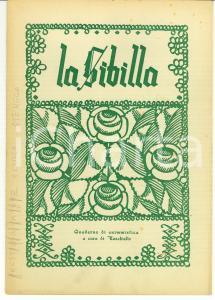 1944 LA SIBILLA Quaderno di enigmistica EZECHIELLO