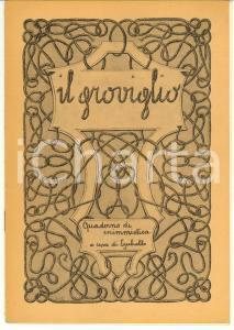 1945 IL GROVIGLIO Quaderno di enigmistica EZECHIELLO