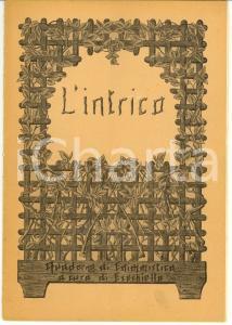1945 L'INTRICO Quaderno di enigmistica EZECHIELLO