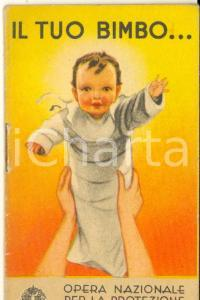 1939 OPERA NAZ. INFANZIA Il tuo bimbo Borotalco ROBERTS