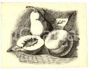 1930 circa Maria FARINELLI Natura morta con frutta