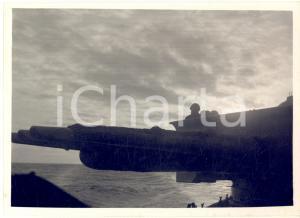 1942 WW2 ROMA Silurante di scorta a un convoglio per l'Africa Settentrionale
