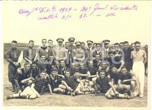 1937 ALBA (CN) Calcio Squadra 29° Fanteria Divisione ASSIETTA Campionati *Foto