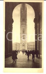 1927 MILANO TORRE DELLE MEMORIE Veduta da Galleria Vittorio Emanuele RENDERING