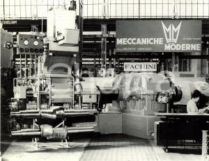 1967 MILANO Fiera Ing. V. FACHINI Mescolatore Gomma MECCANICHE MODERNE *FOTO