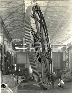 1968 MILANO Ing. V. FACHINI - Ruota diffusore zucchero per ERIDANIA *FOTOGRAFIA
