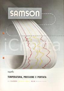 1959 MILANO SAMSON Regolatori universali Luigi DE KÜMMERLIN *Listino illustrato