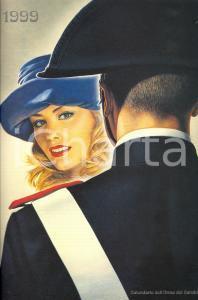 1999 ARMA CARABINIERI Calendario illustrato Renato CASARO Donne dell'Arma