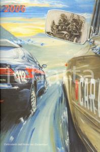 2006 ARMA CARABINIERI Calendario illustrato Klaus WAGGER Motorizzazione militare
