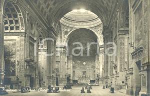 1942 MANTOVA Interno della Chiesa SANT'ANDREA *Cartolina postale FP NV