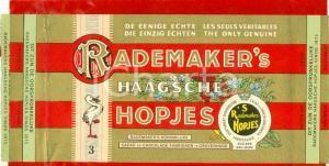 1940 ca OLANDA Cioccolato RADEMAKER'S Haagsche Hopjes Confezione ILLUSTRATA