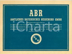 1950 circa ABR Bayerisches Reisebüro Esposimetro BEWI