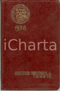 1938 TRIESTE Agendina tascabile Pastificio Triestino