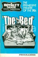 1970 LONDON  PERMISSIVE THEATRE commedia porno THE BED