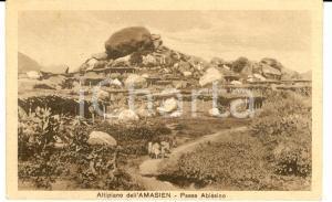 1935 AOI MAY LIBUS (Eritrea) Altopiano AMASIEN - Paese abissino FP VG
