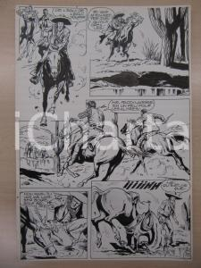 1990 BD WESTERN FRANCE BILLY BOYD N° 2 El Cobra! tav.33 Original BERNASCONI LUBE