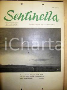 1953 SENTINELLA Quindicinale ex RSI -  Anno I n° 6 Paracadutisti TARQUINIA