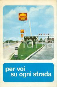 1966 SHELL Mappa stazioni di servizio su Autostrade d'ITALIA *Opuscolo
