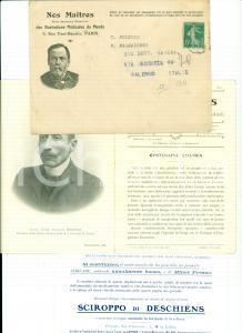 1911 NOS MAITRES Illustrations Médicales 13 Camillo BOZZOLO Sciroppo DESCHIENS