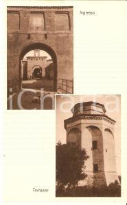 1930 ca CASATICO (MN) Vedutine di CASTELLO CASTIGLIONI *Cartolina FP NV