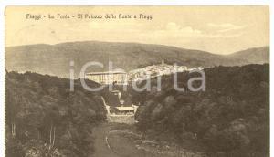 1916 FIUGGI (FR) Veduta del palazzo della FONTE *Cartolina FP VG