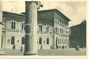 1946 SIENA Veduta di piazza UMBERTO I palazzo POSTE e TELEGRAFI *Cartolina FP VG