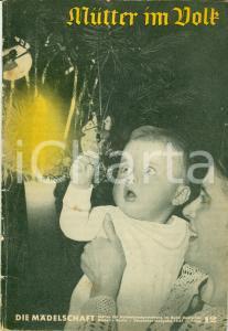 1937 GERMANIA Mutter im Volk Storie per NATALE *Pubblicazione
