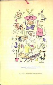 1951 CASATENOVO (LC) Calendario VISMARA Terapeutici Ill. Giacinto MONDAINI