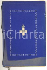 1931 TERZA ARMATA Testamento Emanuele Filiberto per CROCE ROSSA Ed. LIMITATA