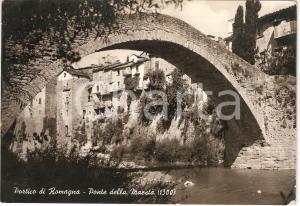 1959 PORTICO E SAN BENEDETTO (FC) Il ponte DELLA MAESTA' *Cartolina FG VG
