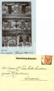 1903 MANTOVA I Martiri di BELFIORE *Cartolina famiglia Carlo MONTANARI