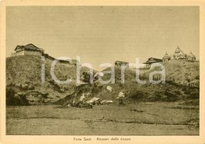 1935 AOI FORTE SAATI (ERITREA) Veduta dei ricoveri della truppa *Cartolina FG NV