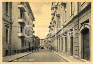 1930 ca POTENZA Veduta di corso 18 agosto 1860 *Cartolina ANIMATA FG NV