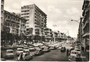 1962 BARI Carosello di FIAT 500 in Corso CAVOUR *Cartolina ANIMATA FG VG