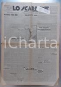 1945 LO SCARPONE In ricordo dell'alpinista Emilio COMICI *Giornale