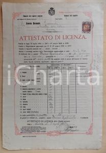 1922 COSENZA Scuola Normale Femminile LUCREZIA DELLA VALLE Gabriele BOSCO